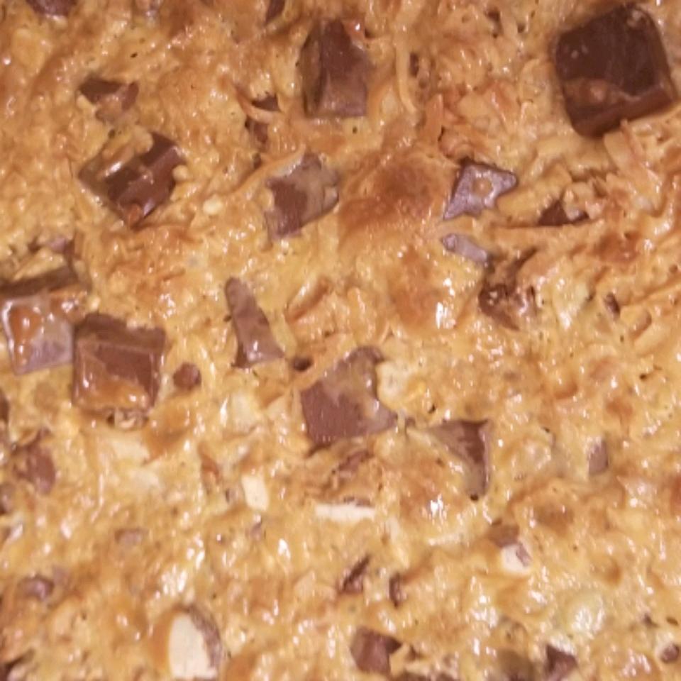 (Gluten Free) Magic Cookie Bars Tammy