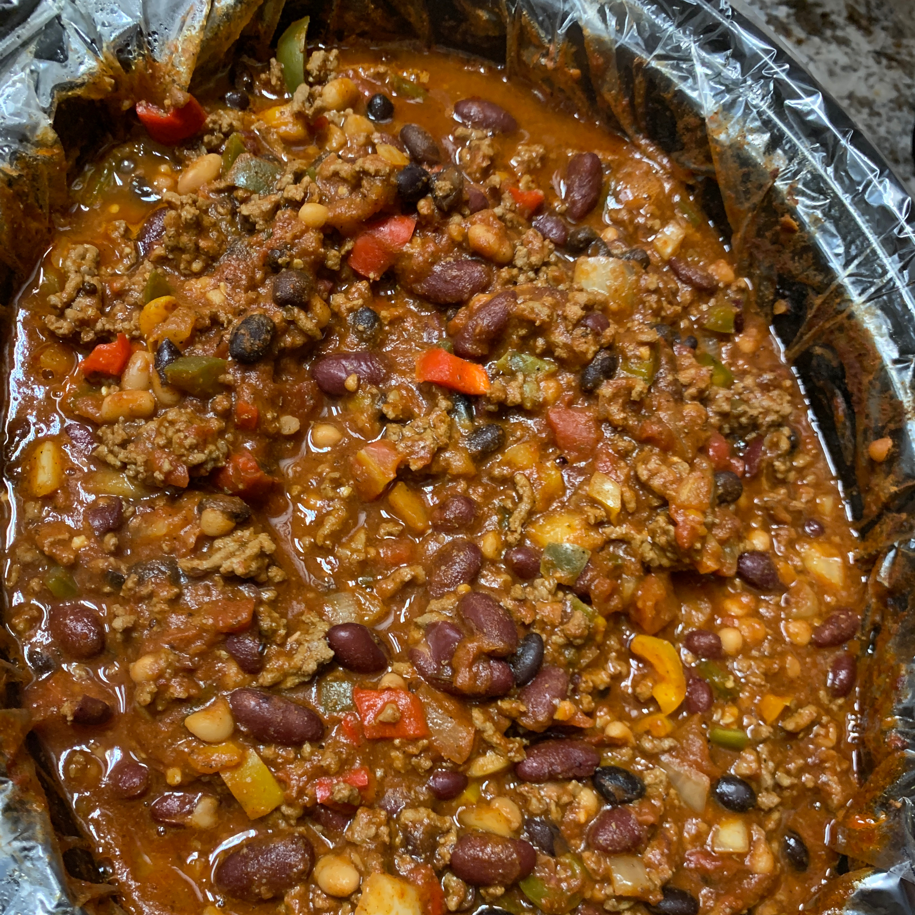Christina's Slow Cooker Chili Maribel Escareno