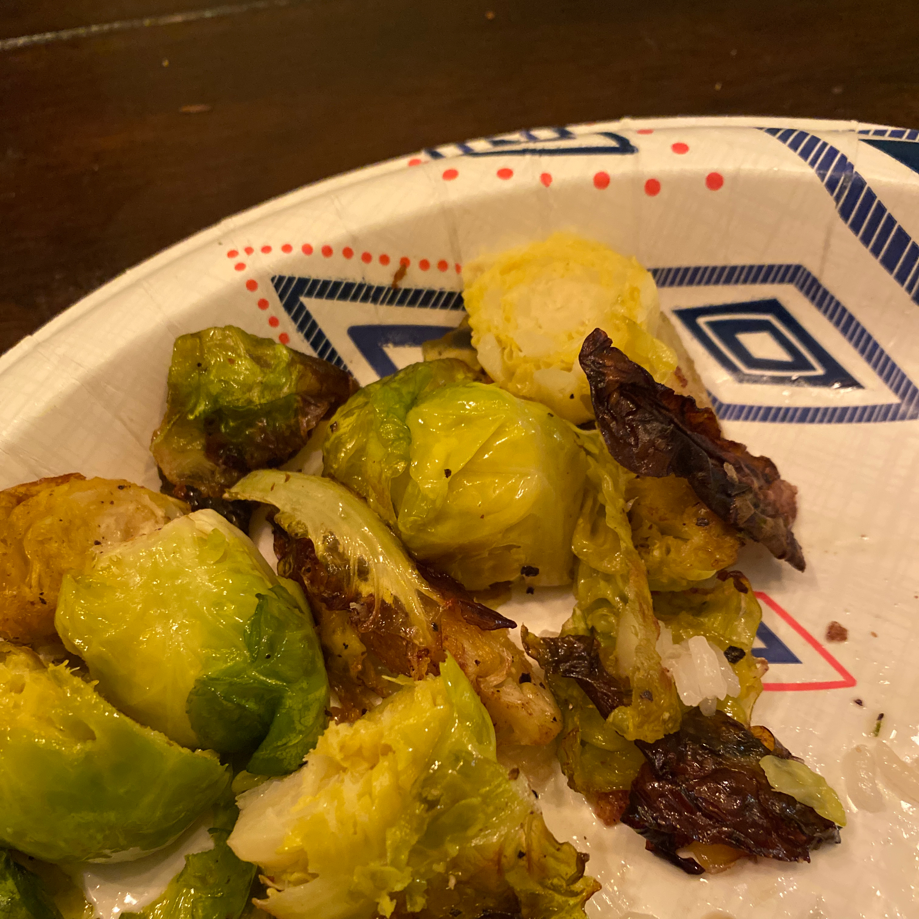Roasted Brussels Sprouts Haley Fairbanks