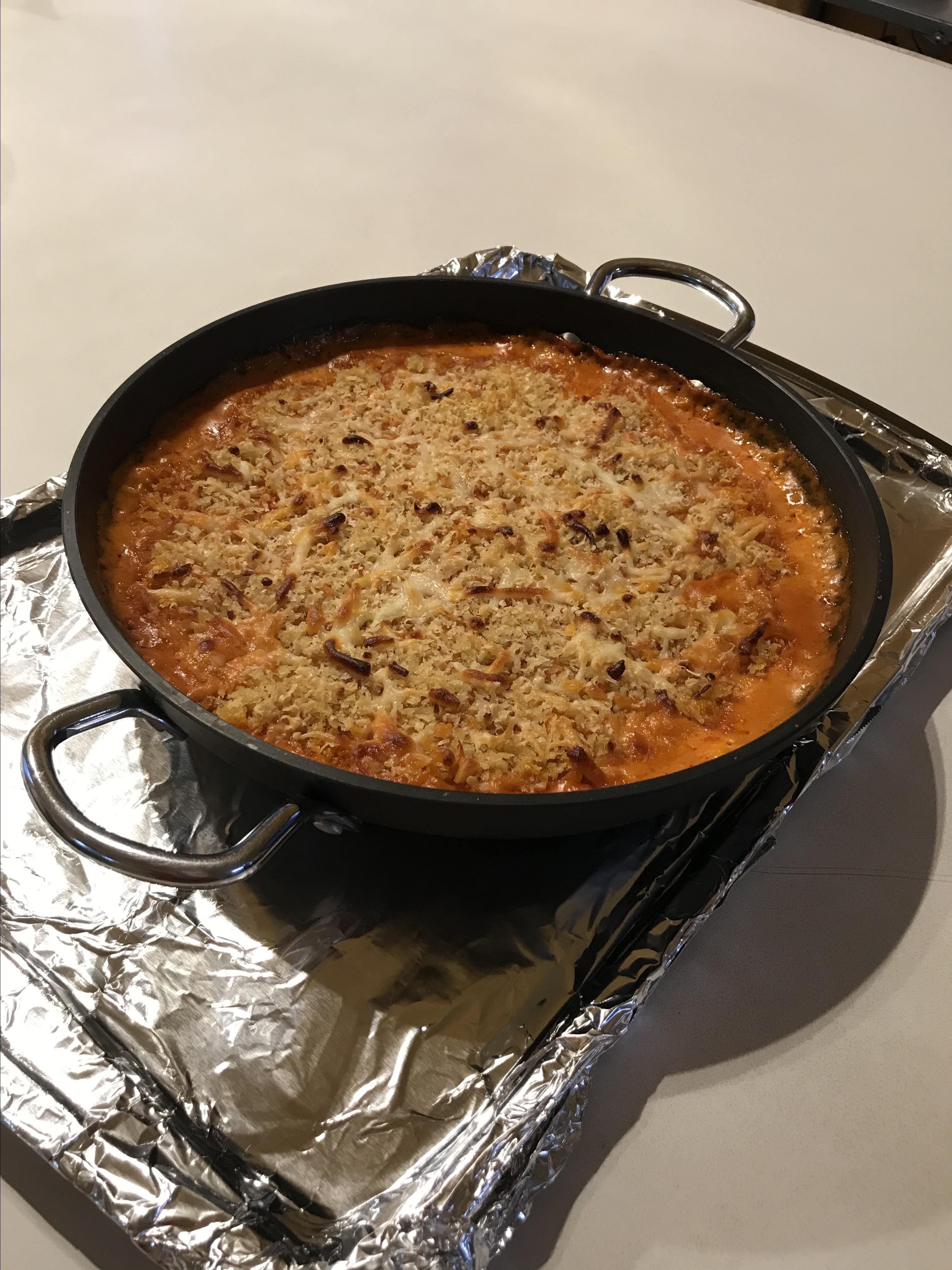 Baked Chicken Parmesan Dip Newkid65