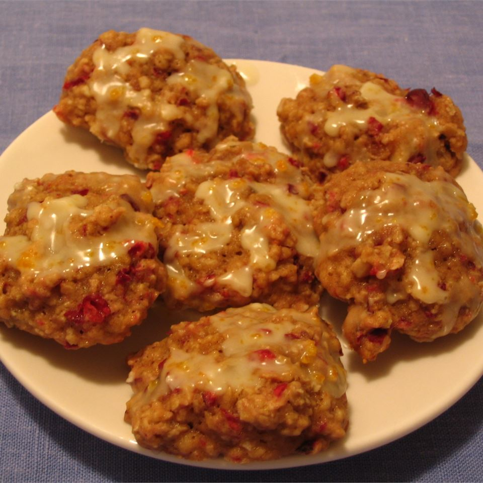 Cranberry Oatmeal Drops Tammy M Curry