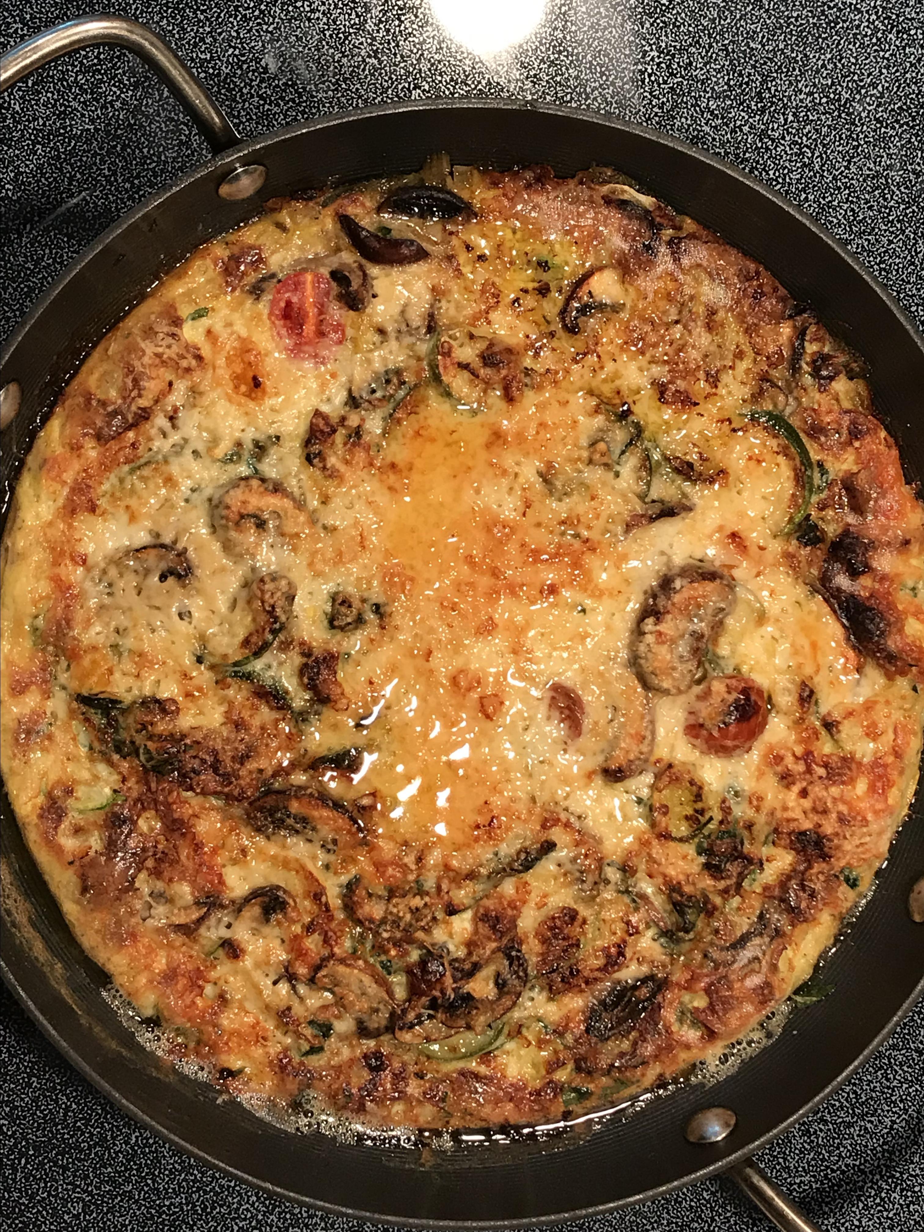 Zucchini Oven Frittata
