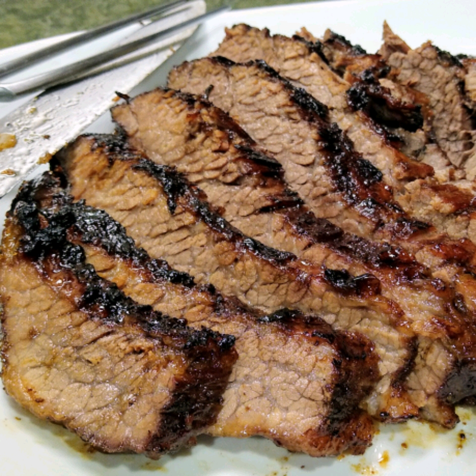 """This is absolutely fabulous and so easy,"" says Susan. ""Brisket that isn't dried out can be so good. The bar-b-que sauce is also wonderful and can be used for other meat dishes."""