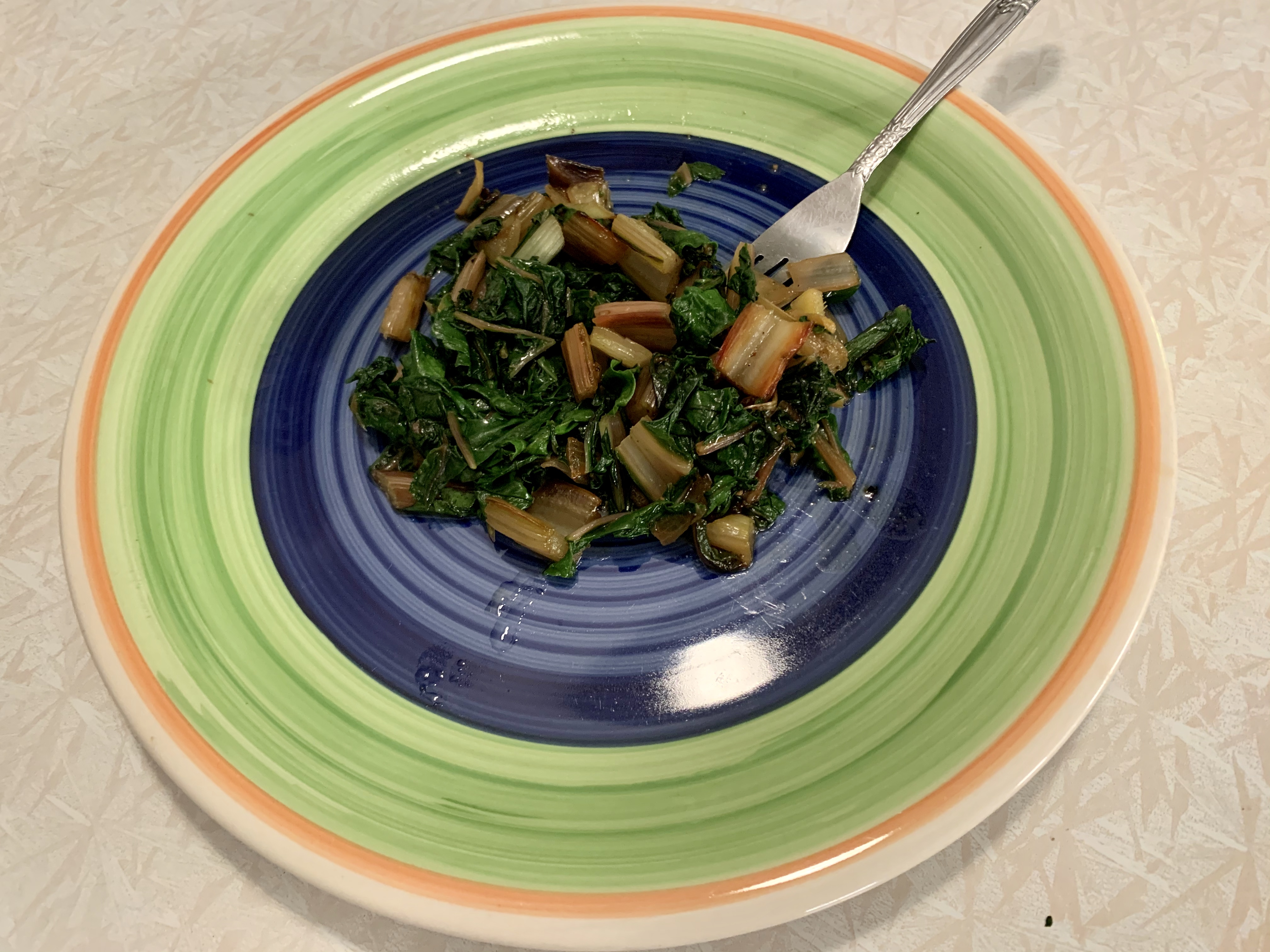 Sweet and Spicy Swiss Chard hildy