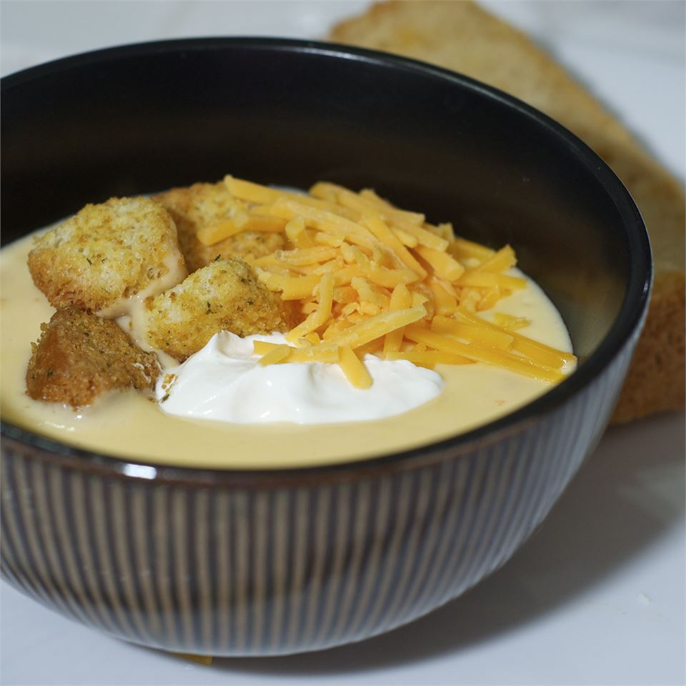 Baby Doe's Cheese Soup with Beer