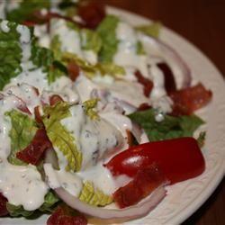 Buttermilk Peppercorn Ranch Salad Dressing Alley