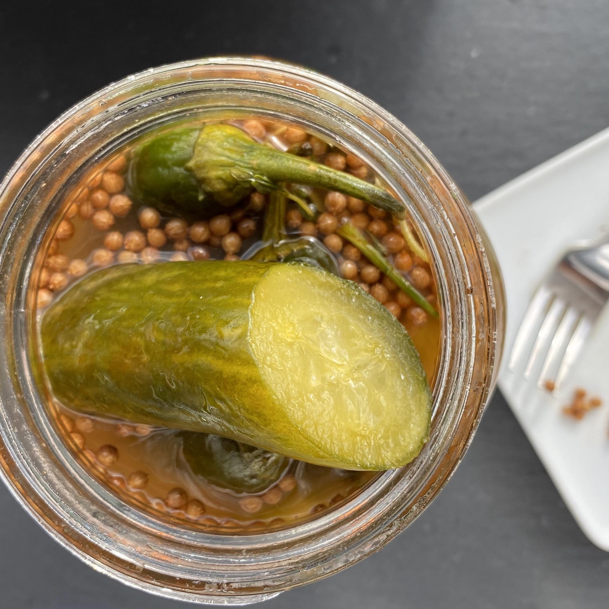 Za'atar Pickles