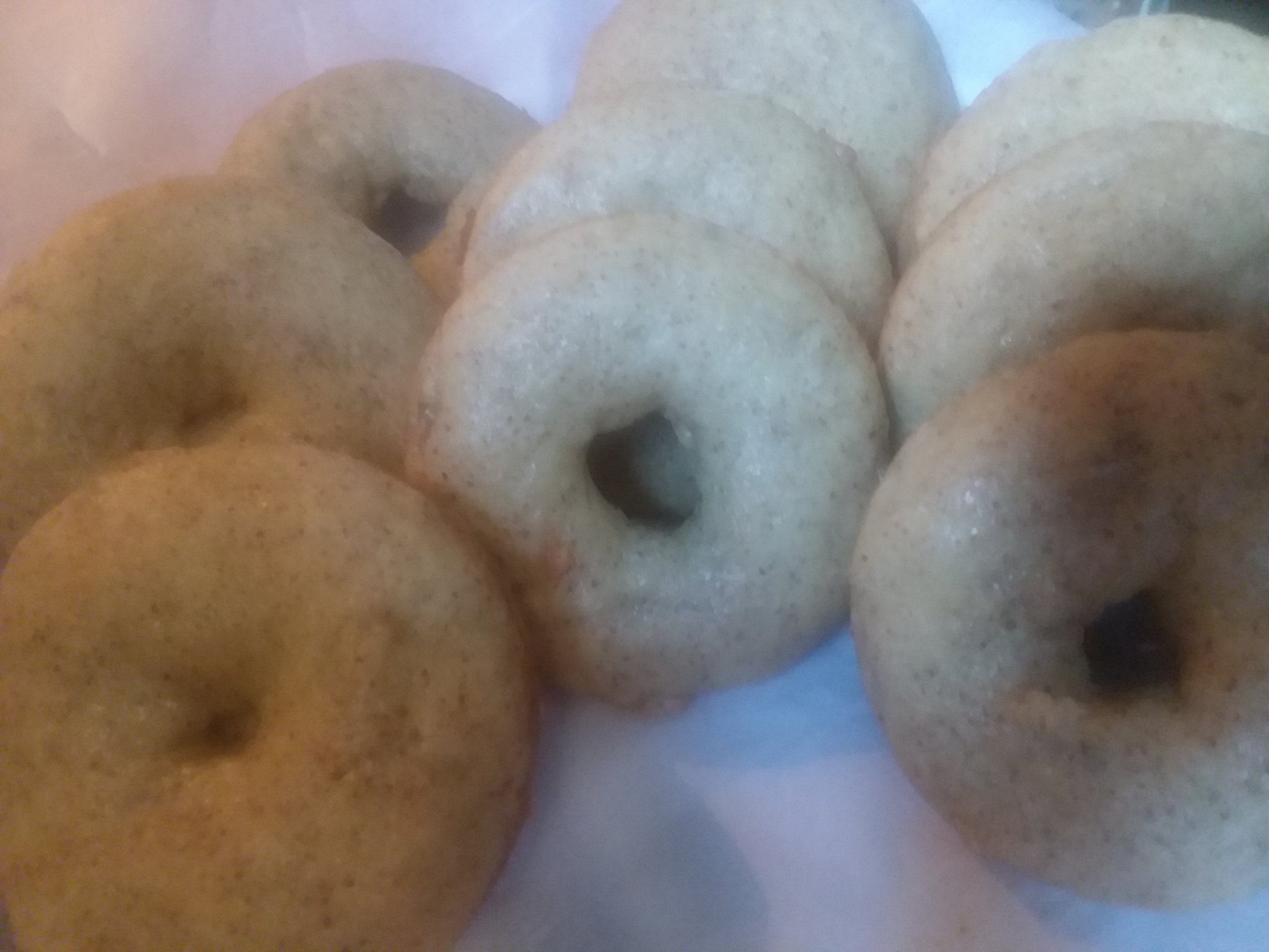 Baked Banana Doughnuts Aliciamamesa