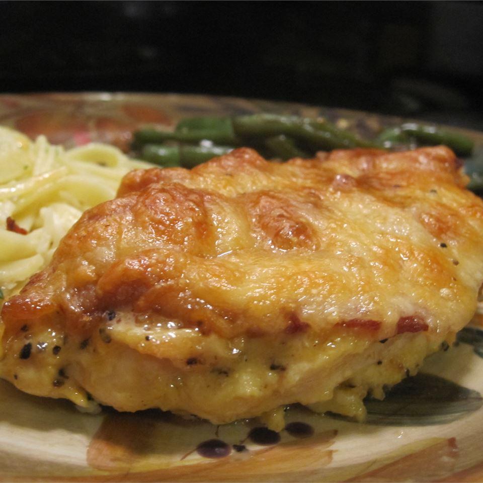 Easy Honey Mustard Mozzarella Chicken