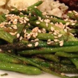 Stir-Fried Sesame Asparagus Candice