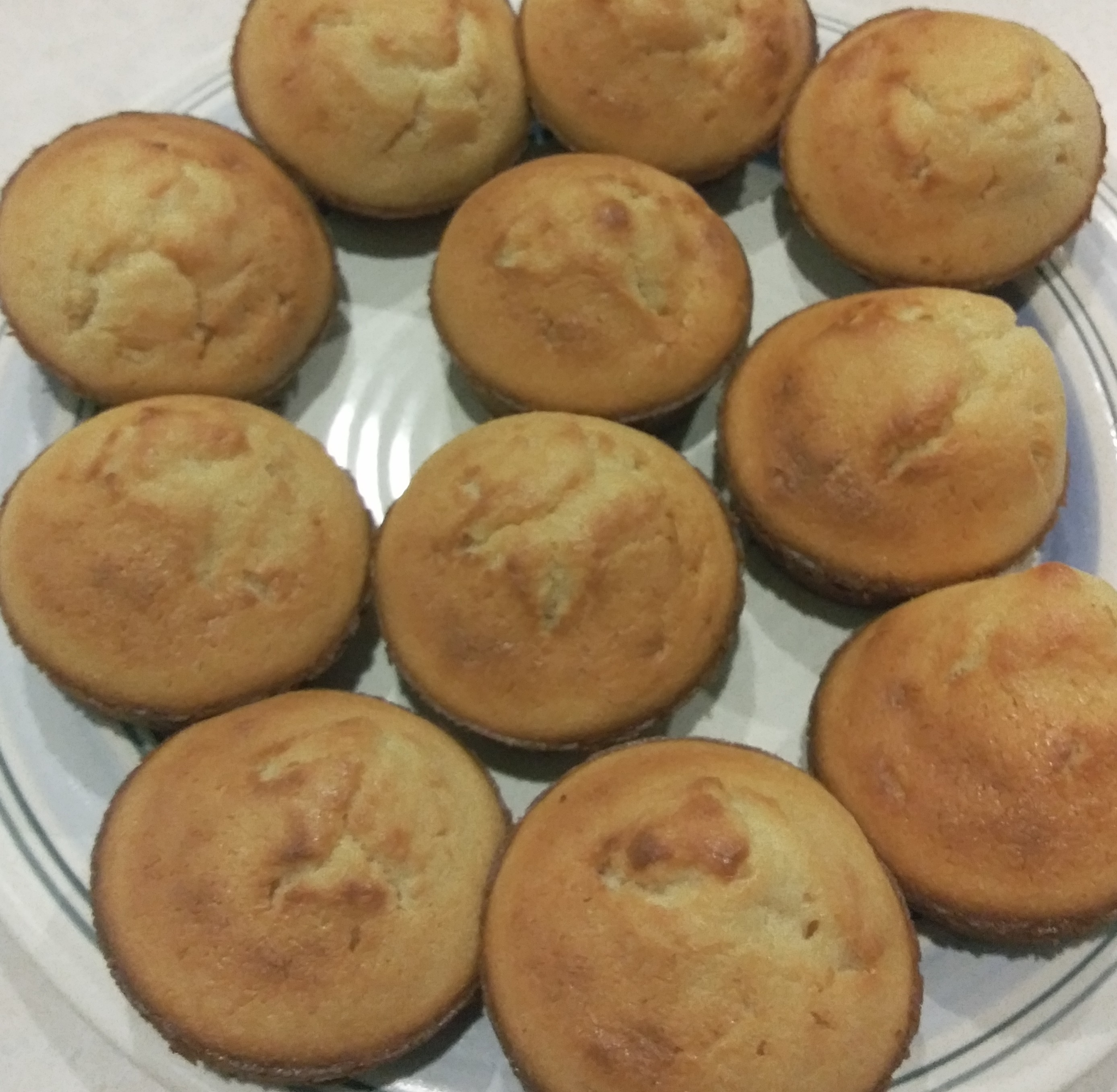 Butter Mochi Cupcakes LadyDee