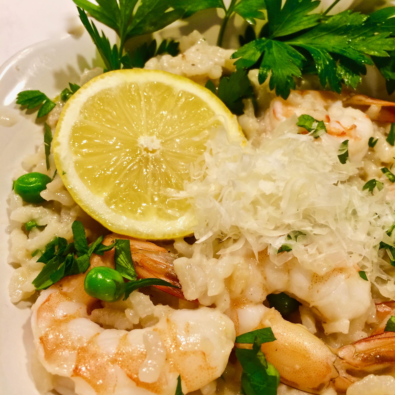 Instant Pot® Shrimp Risotto