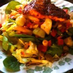 Tilapia Salad Sheila Belle Rogers