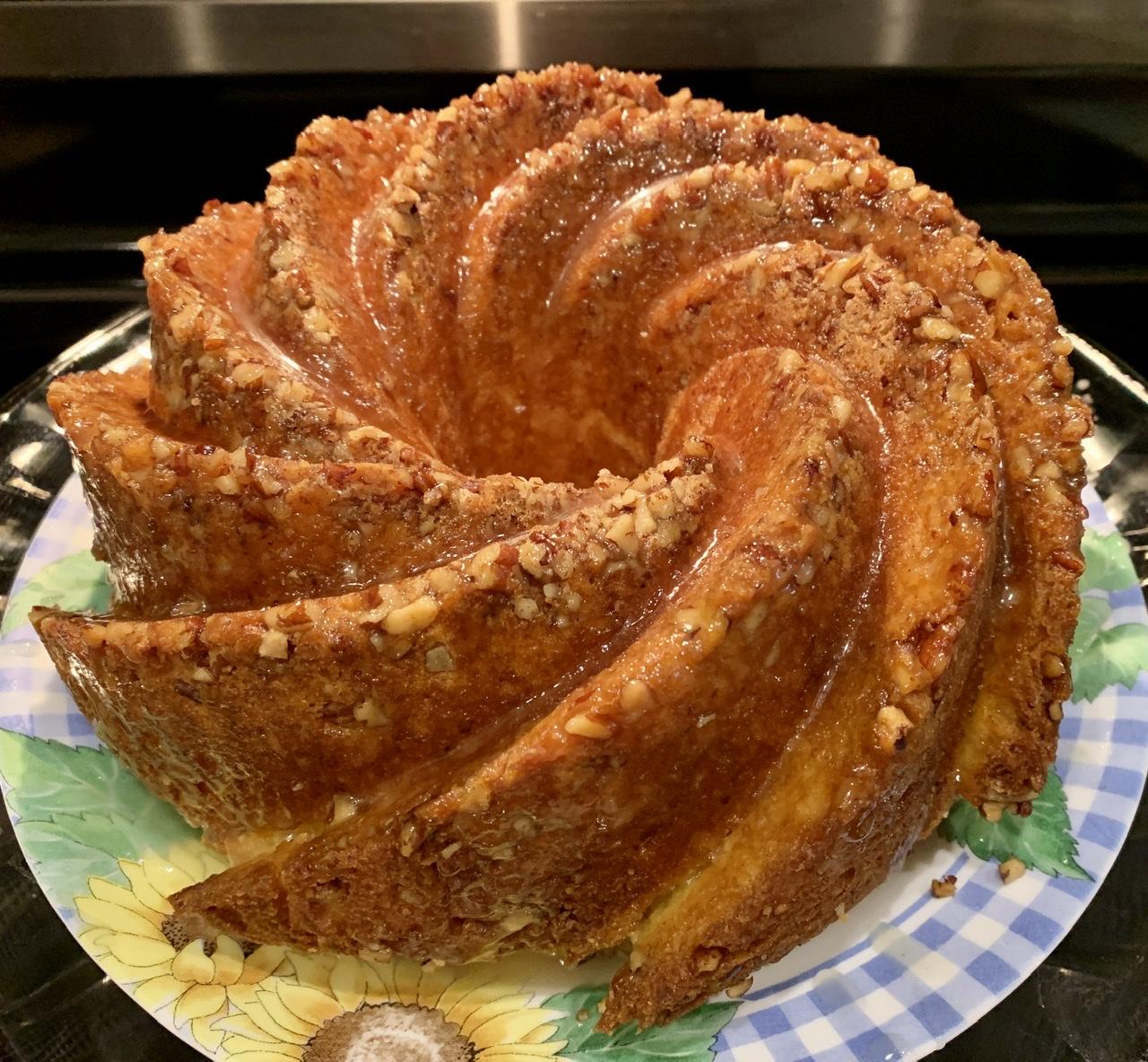 Golden Rum Cake Cyndi L. Hendry