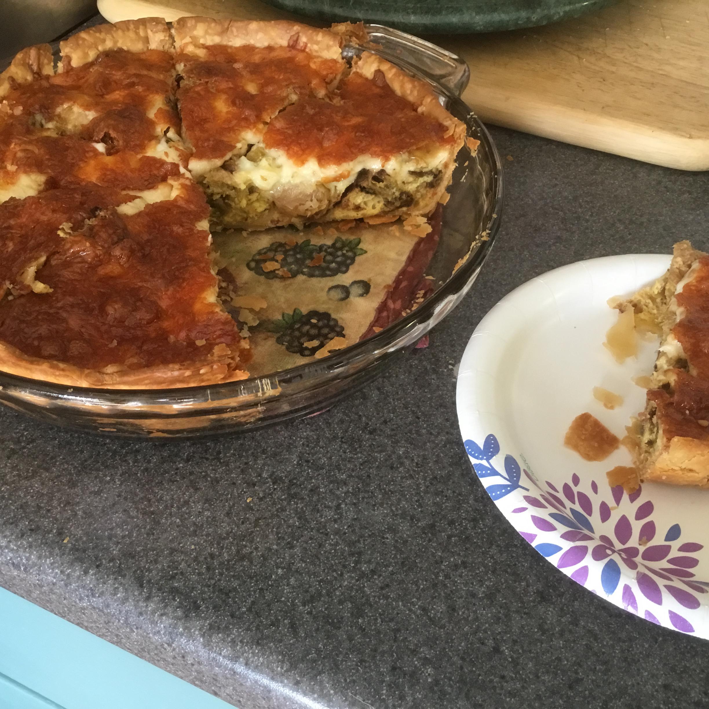 Easiest Zucchini Quiche Karen Sue Estes-Gilman