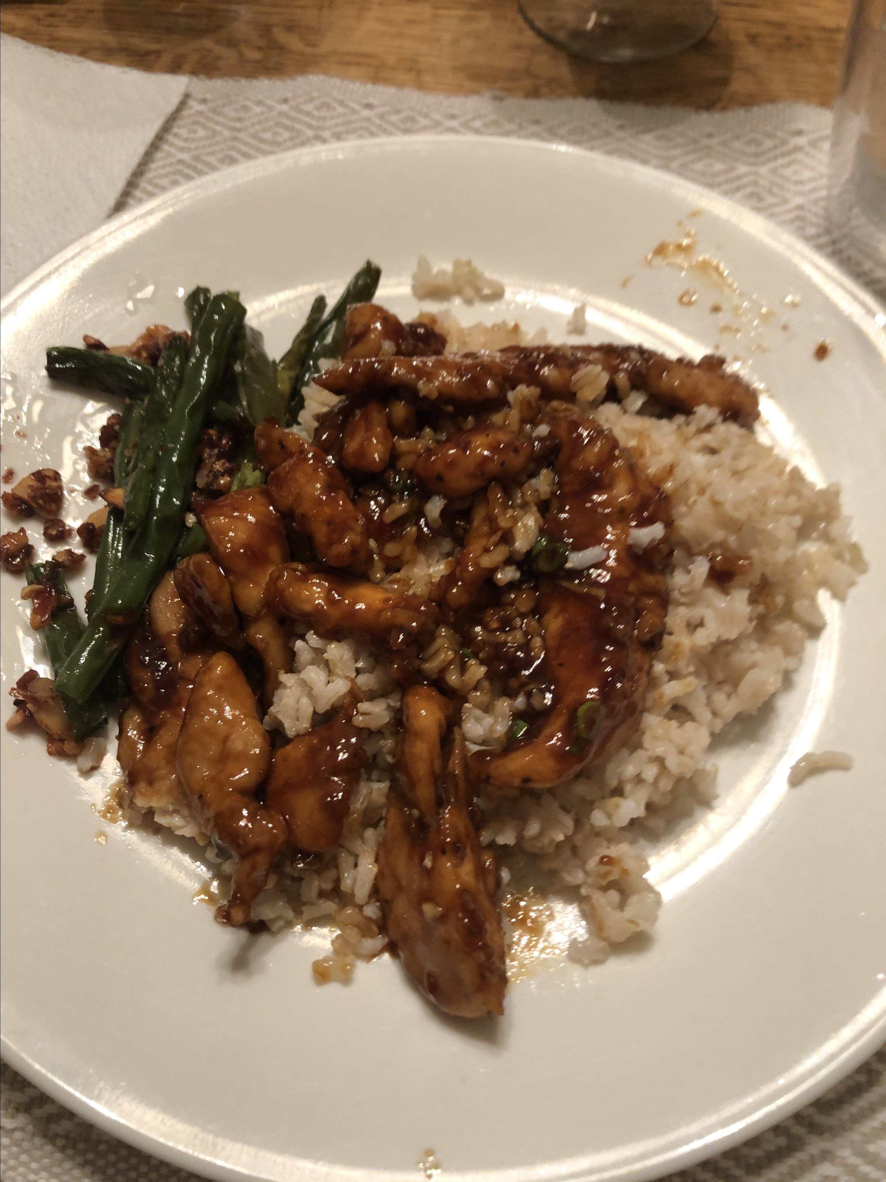 Sweet, Sticky and Spicy Chicken Mark Bone