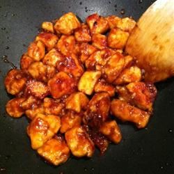 Ten Minute Szechuan Chicken nativeSDgirl