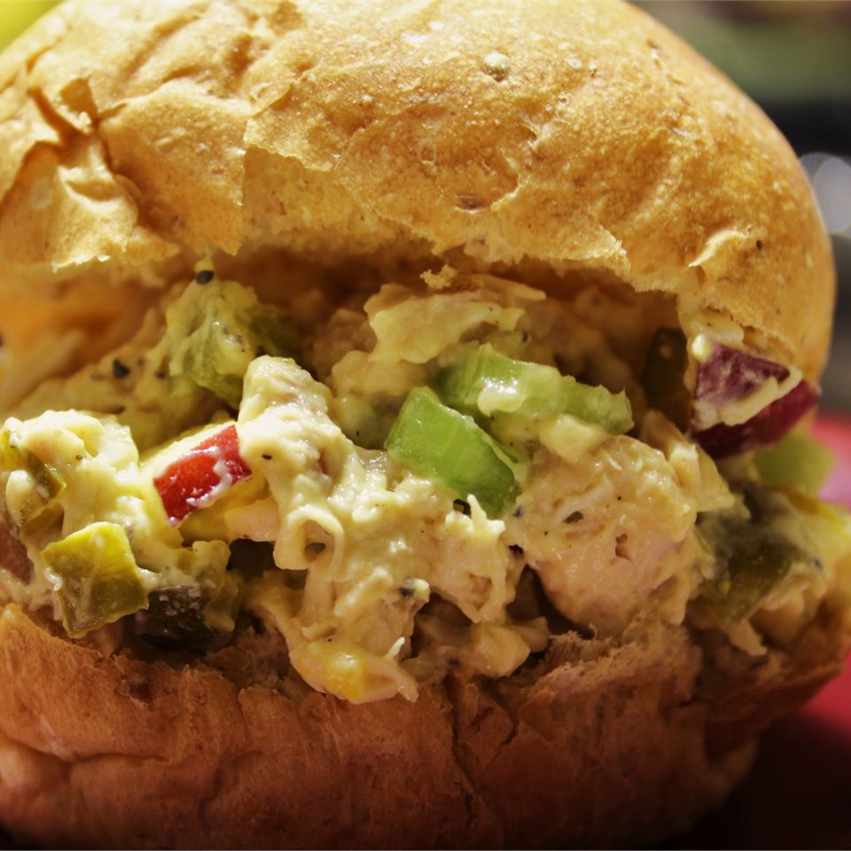 Chicken Curry Salad in a Hurry hungryallweighs