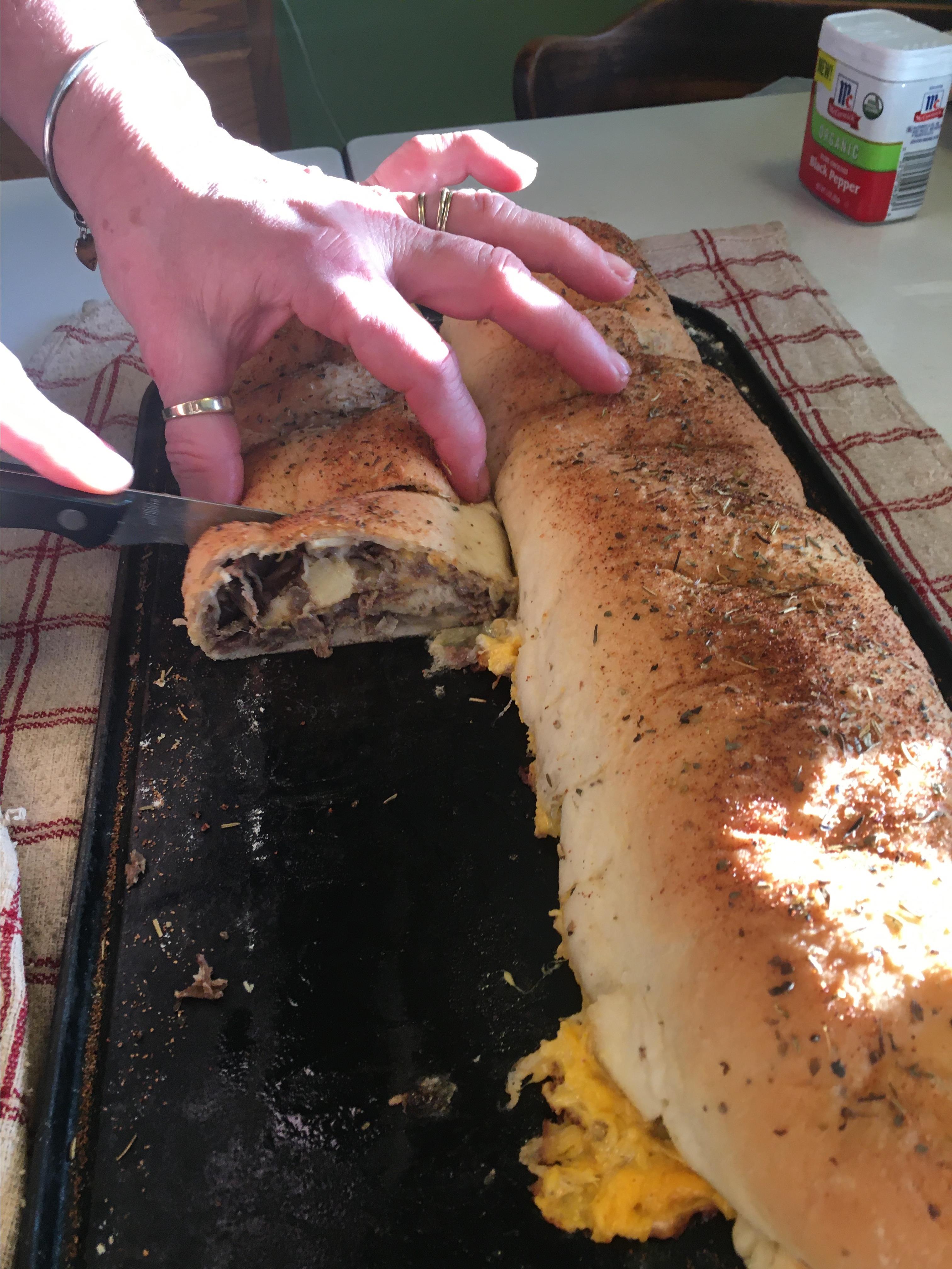 Cheesesteak Stromboli