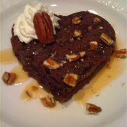 Caramel Brownie Hearts