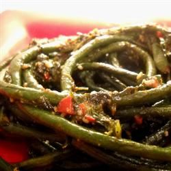 Chinese Peppered Green Beans Linda T