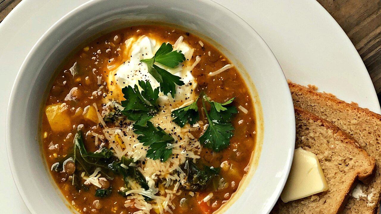 Instant Pot® Lentil Soup