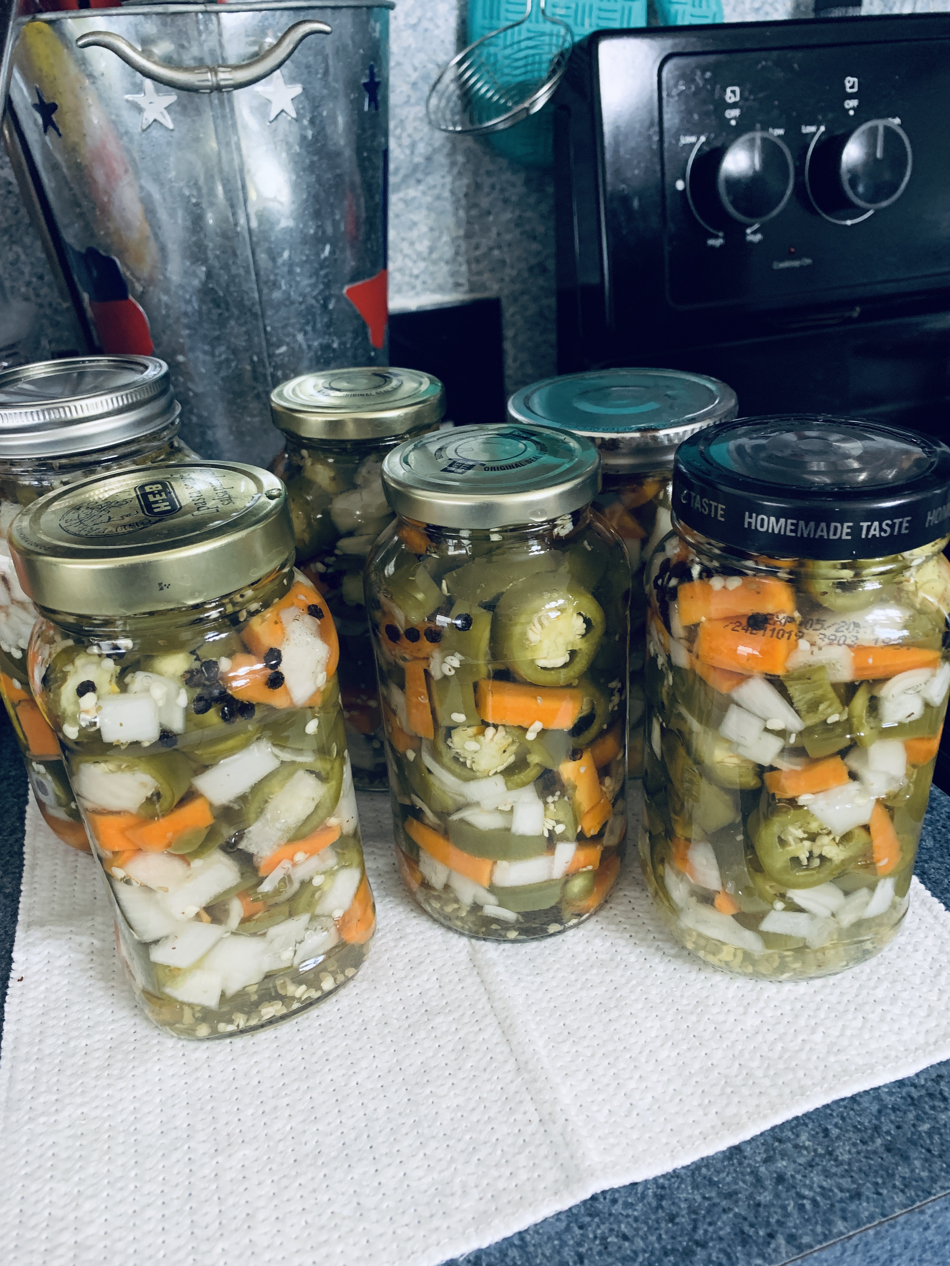 Mexican Pickled Jalapenos Summers