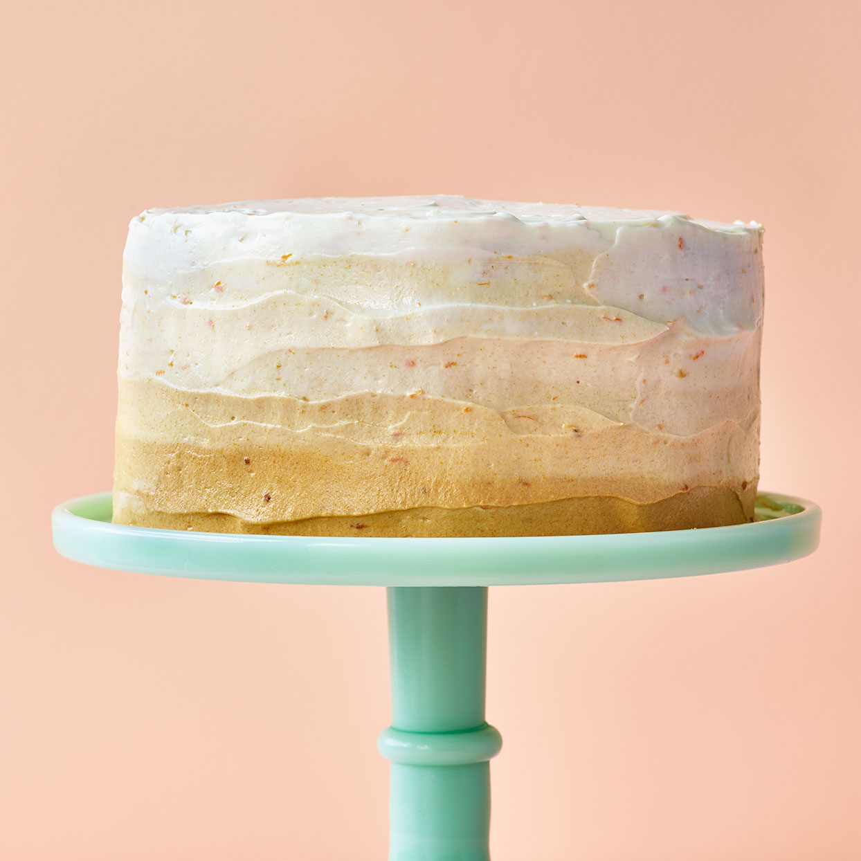 Orange Ombre Cake Trusted Brands