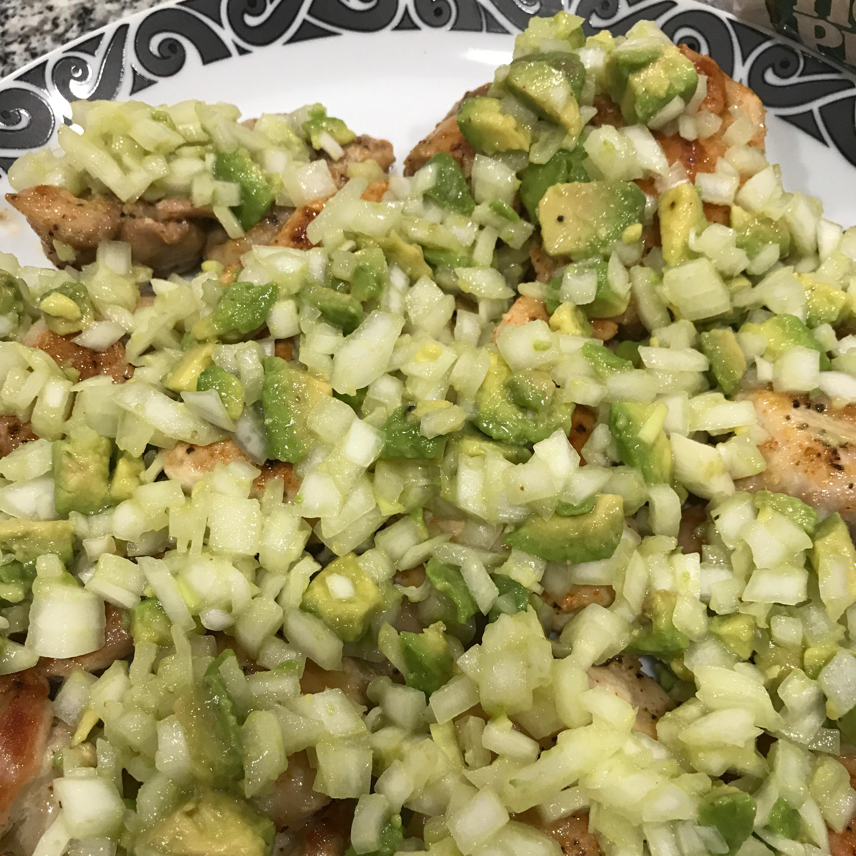 Spicy Avocado Chicken