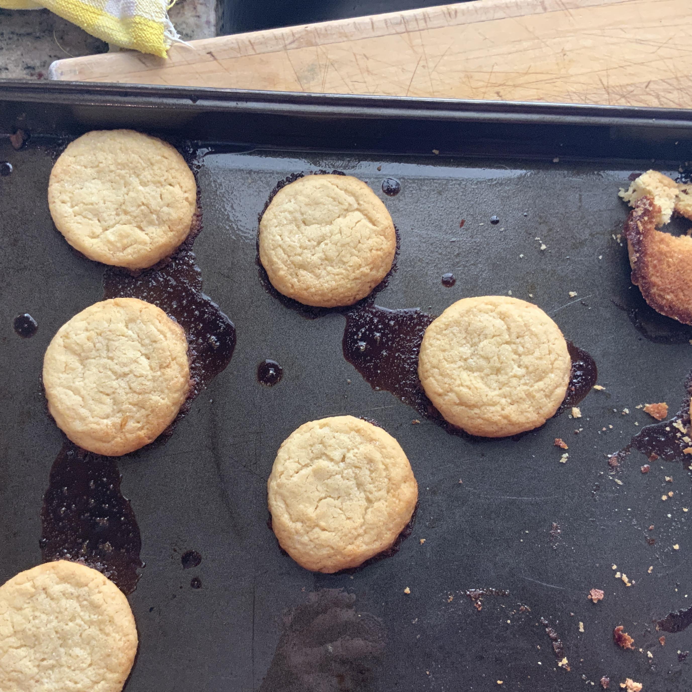 Creamy Lemon Sugar Cookies