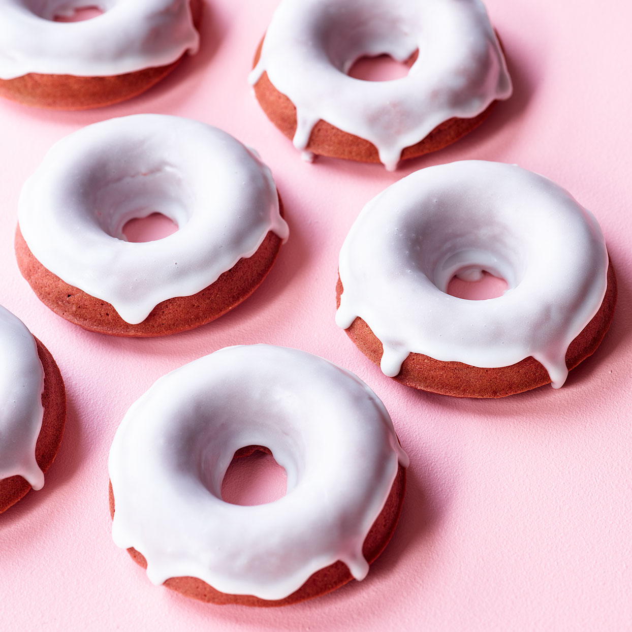 Naturally Red Velvet Doughnuts Nancy Baggett