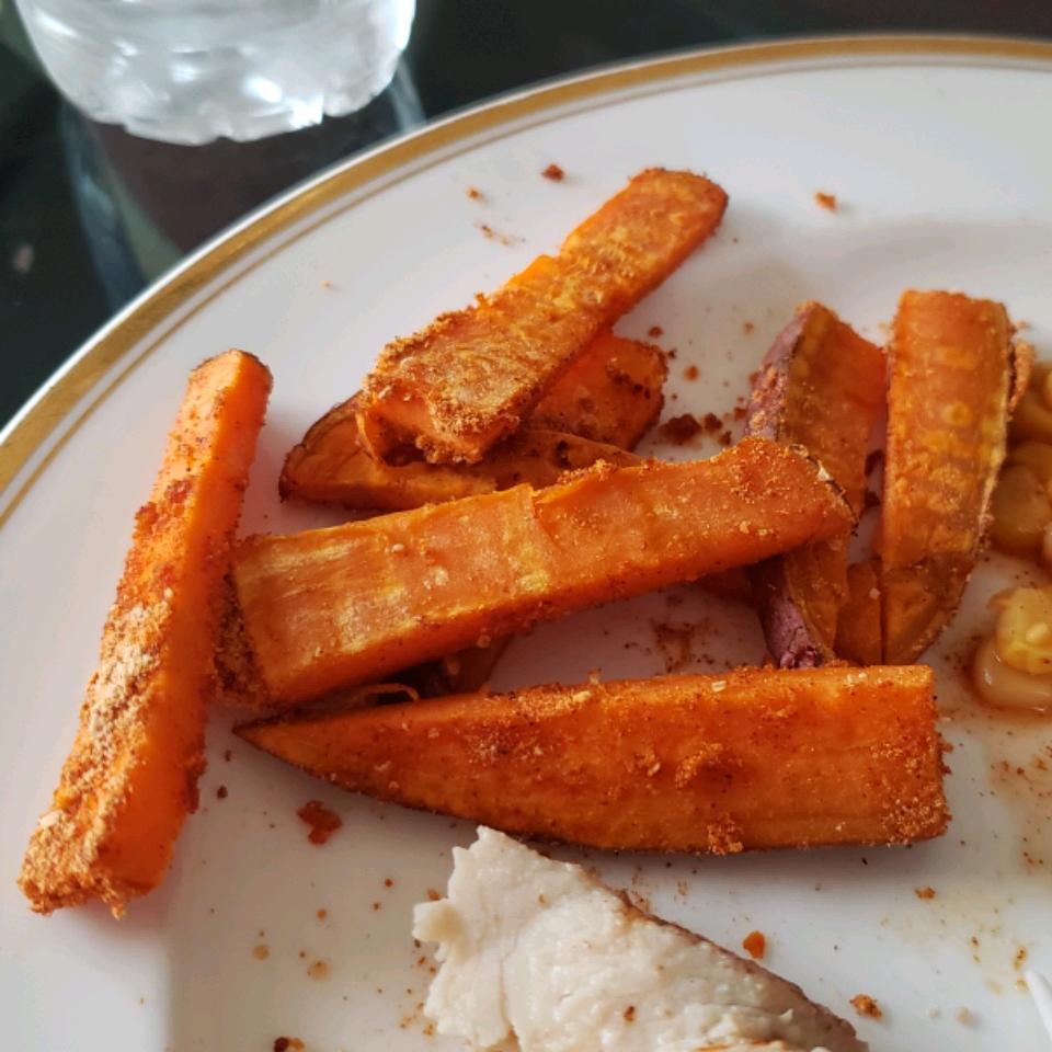 Spicy Baked Sweet Potato Fries Noella Luciotti