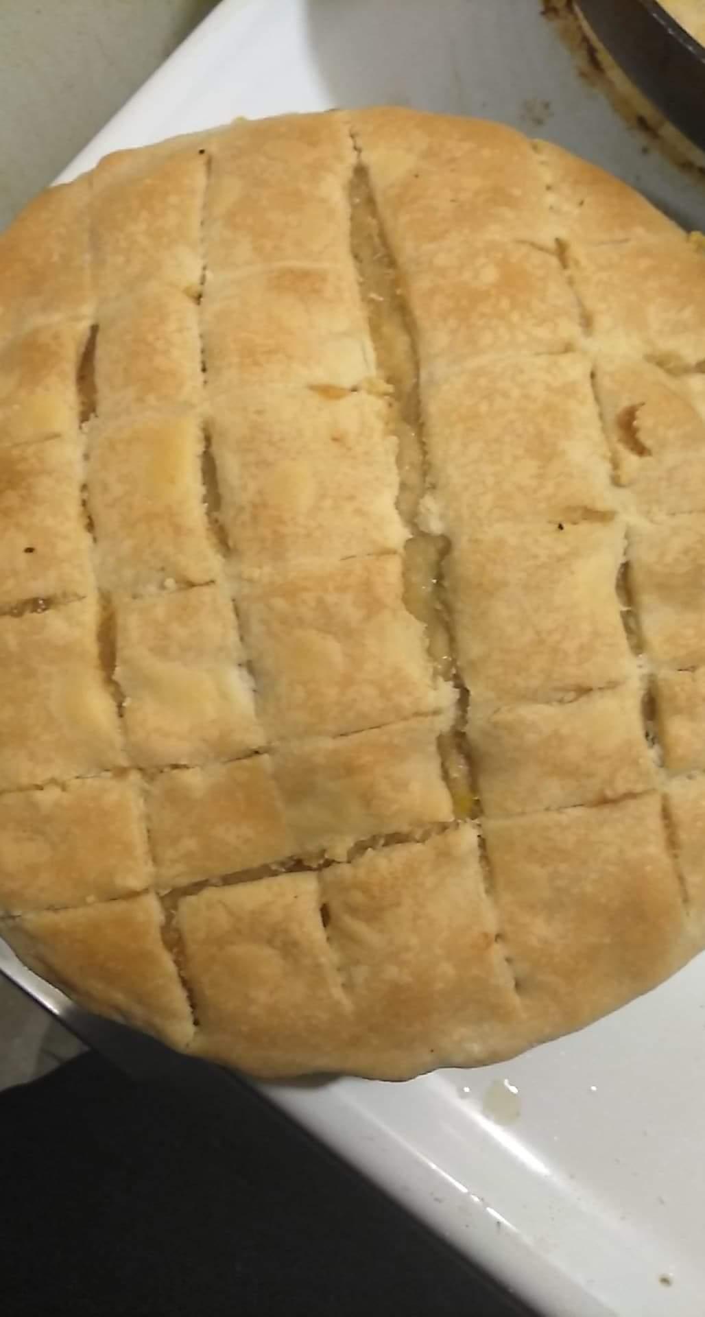 Homemade Chicken Pot Pie Dee
