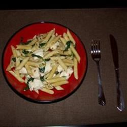 Asparagus, Chicken and Penne Pasta Mary