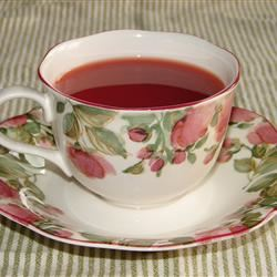 Fuss Free Hot Cranberry Tea laceym