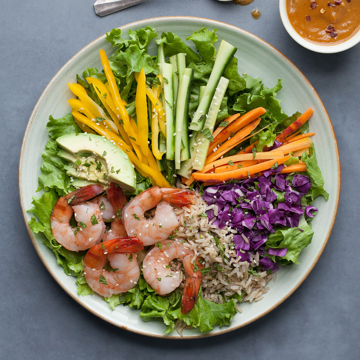 Spring Roll Salad Trusted Brands