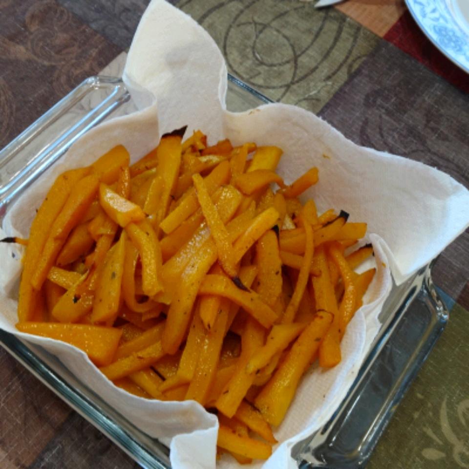 Butternut Squash Cajun Fries Katelynn McGary
