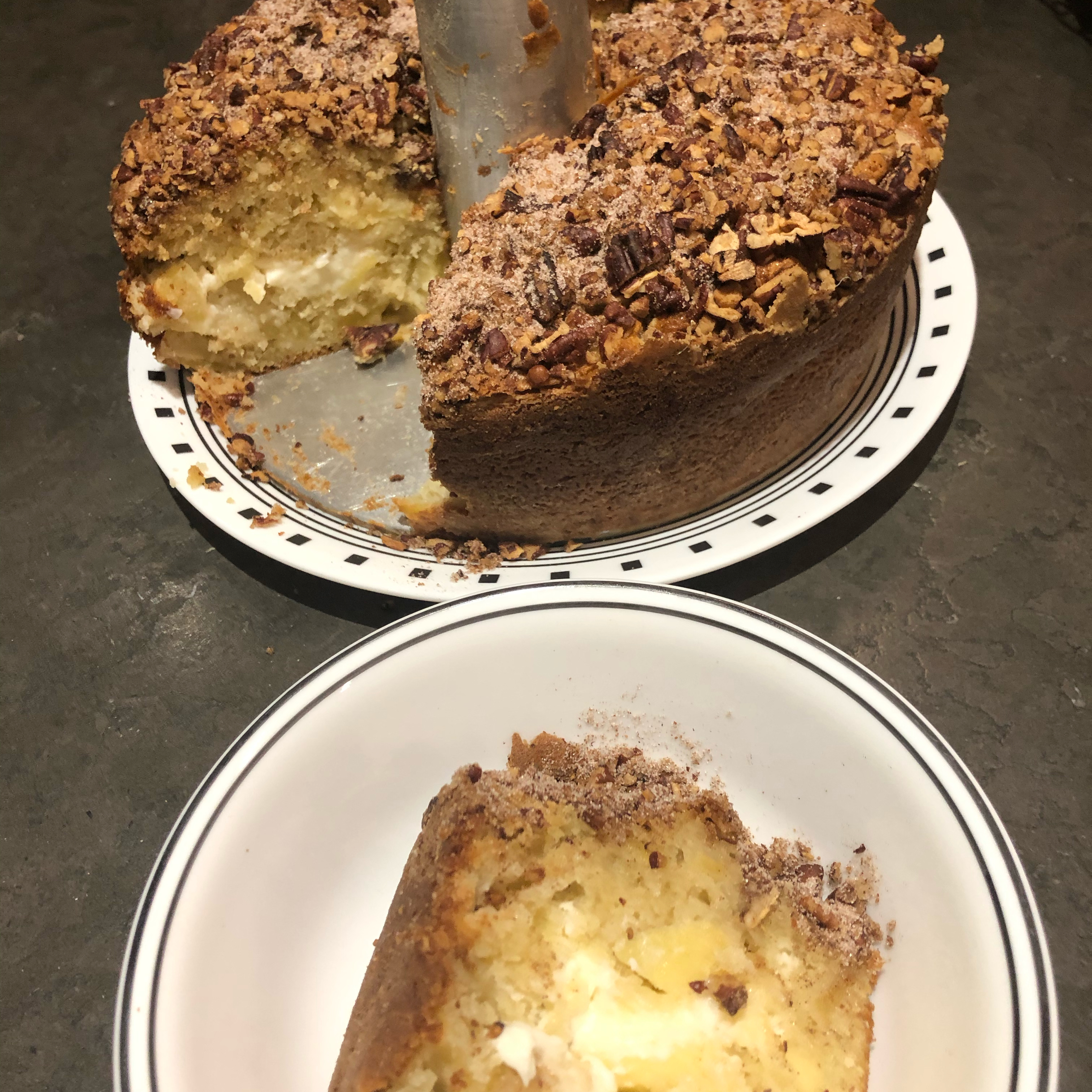 Apple Cream Cheese Coffee Cake PattiVP