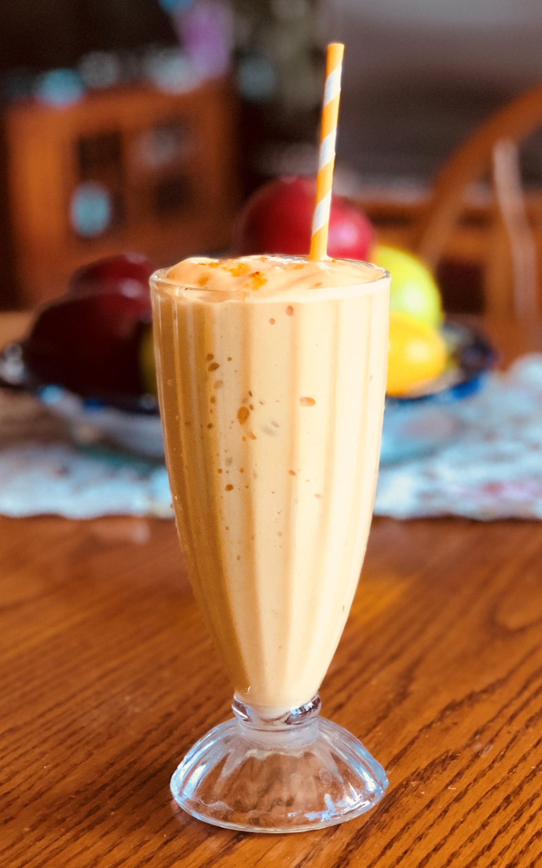 Spiced Mango Protein Smoothie