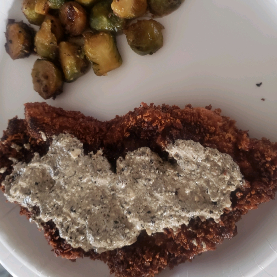 Pork Schnitzel with Dipping Sauce