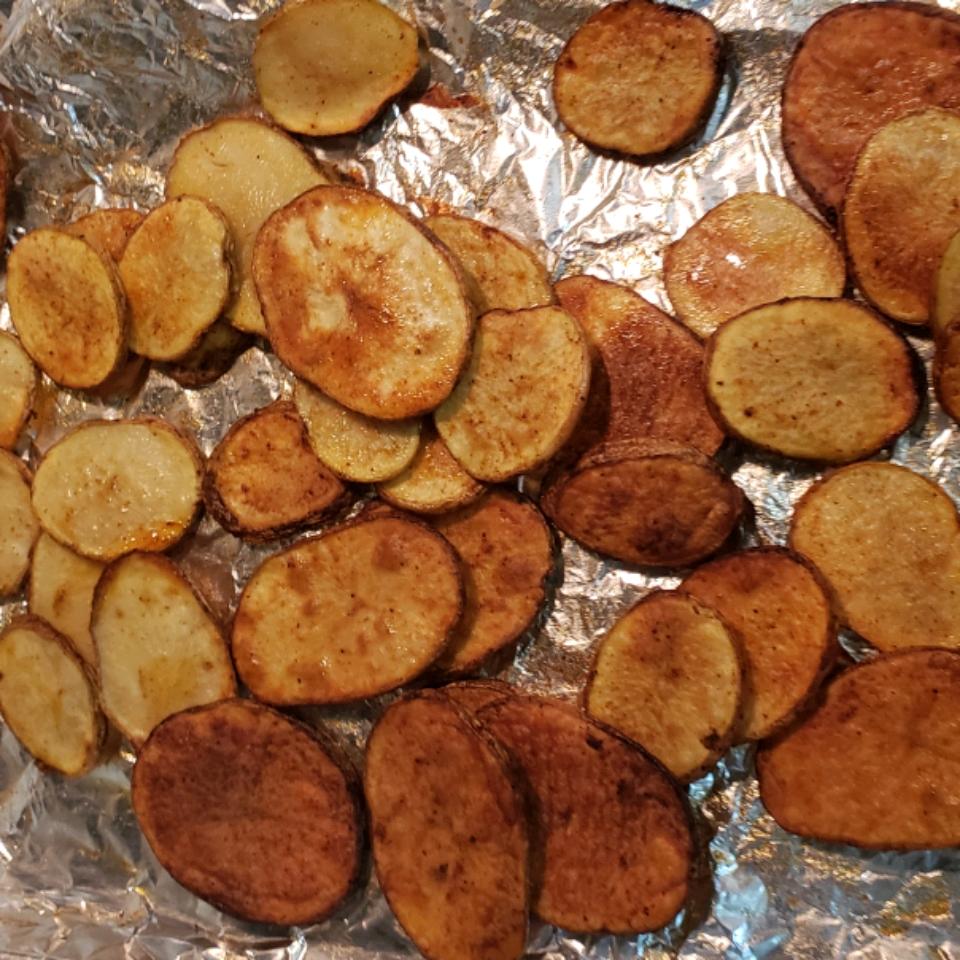 Oven-Baked Potato Slices Erin Hill