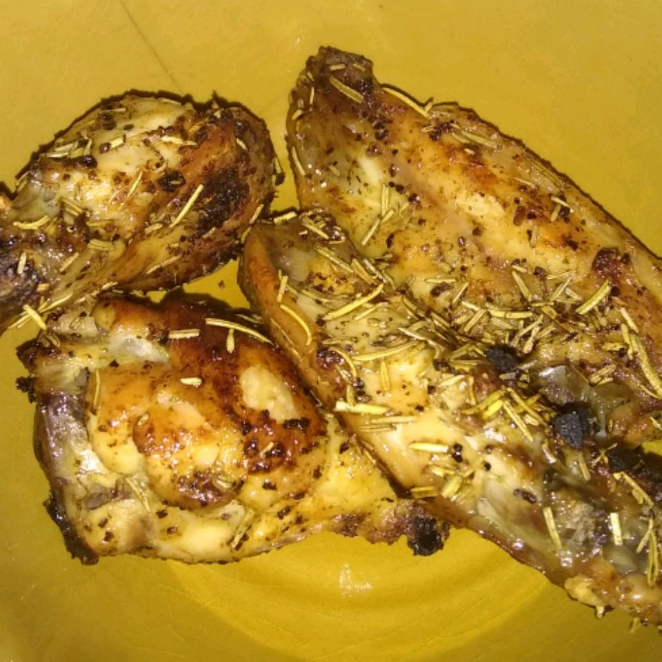 Foolproof Rosemary Chicken Wings C.J.H.