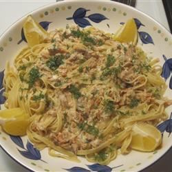Easy Smoked Salmon Pasta Terry's Channel