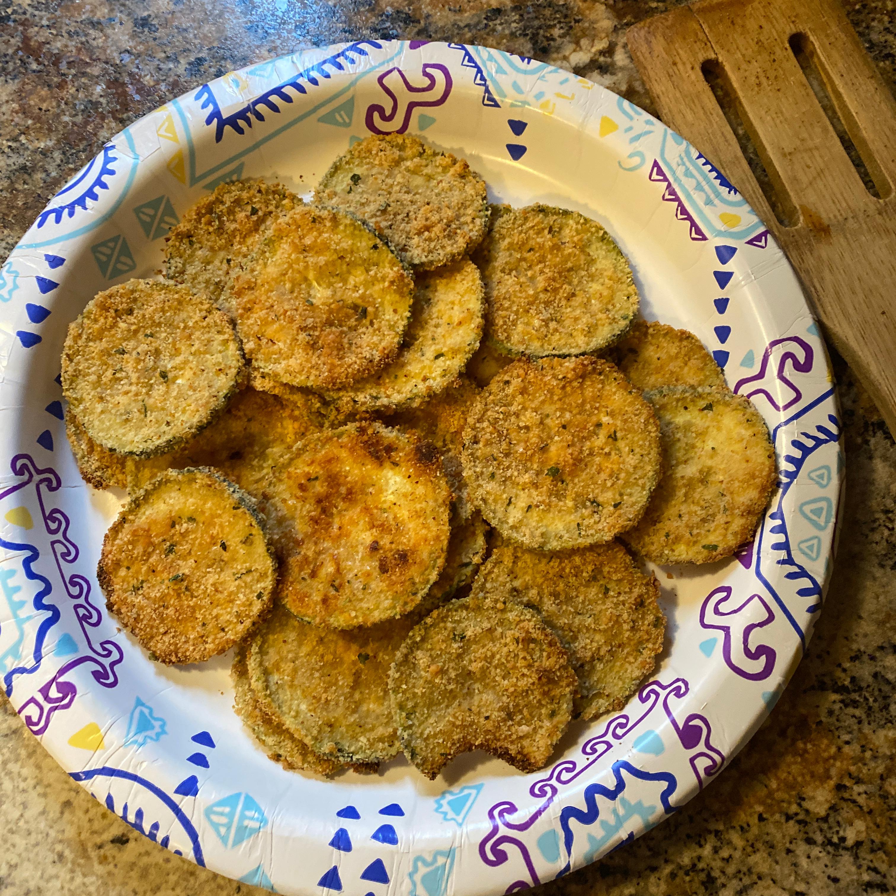 Healthy Zucchini Chips
