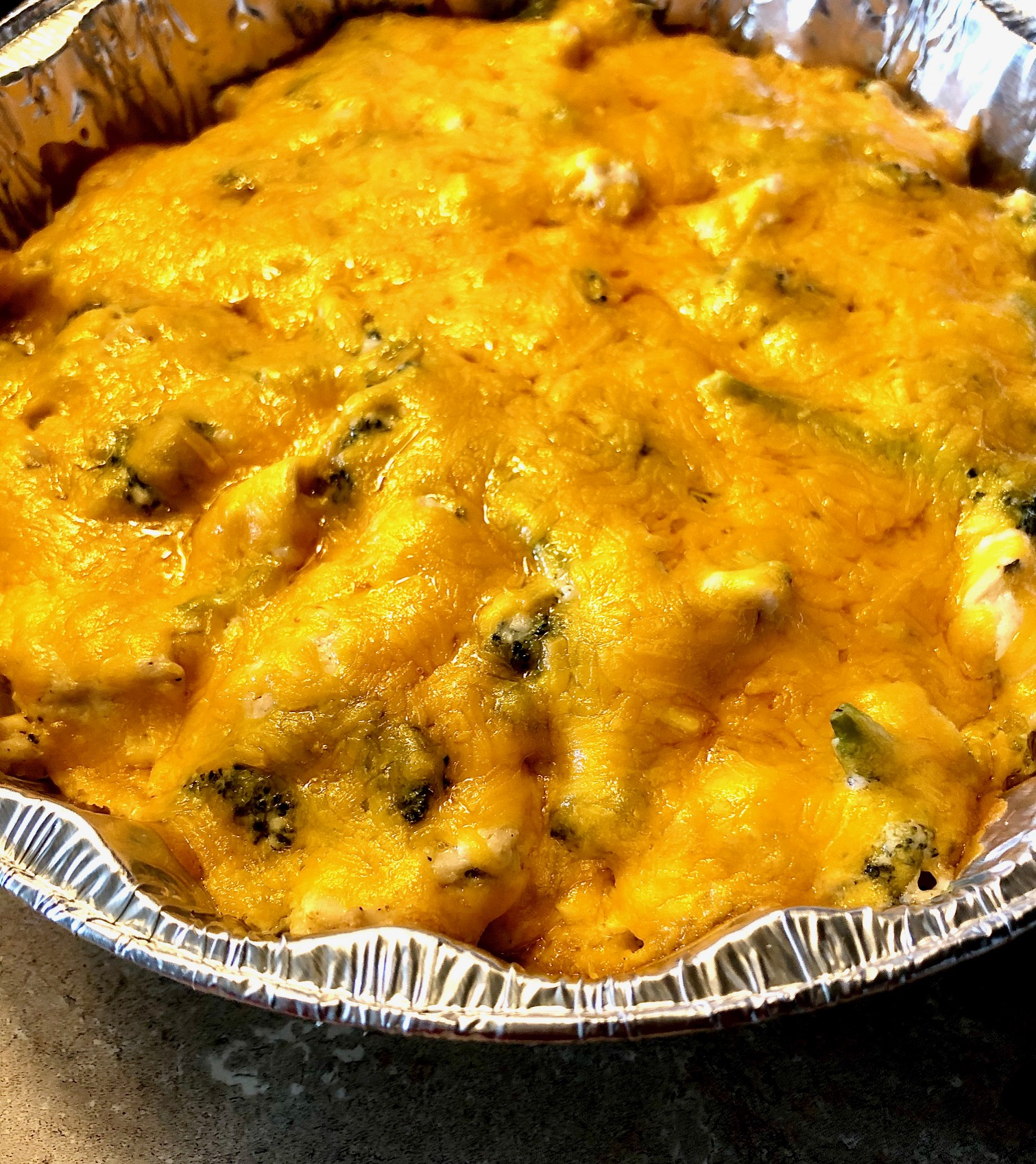 Keto Chicken-Broccoli Casserole Rider