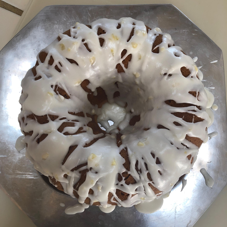 Triple Lemon Pound Cake