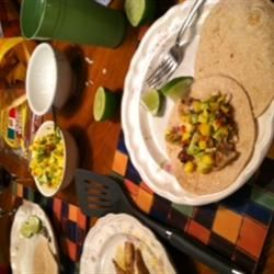 Soft Mahi Mahi Tacos with Ginger-Lime Dressing dsacco11