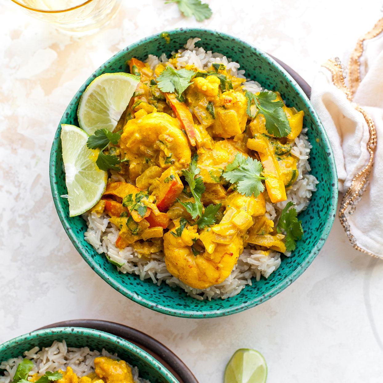 Shrimp & Coconut Milk Curry EatingWell Test Kitchen