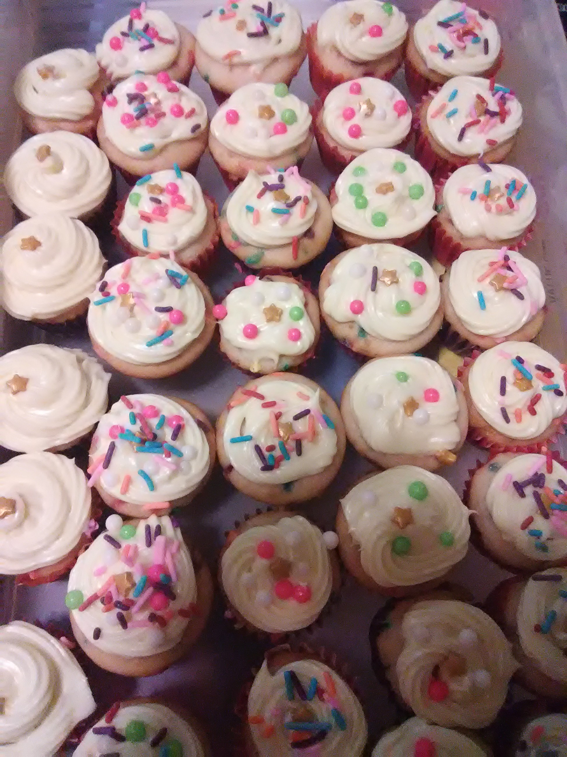 Carrot Cake Cupcakes with Lemon Cream Cheese Frosting Baker C