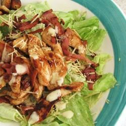 Easy and Fast Cajun Chicken Caesar Salad Linda